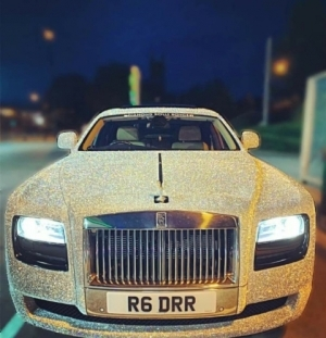 Diamond Rolls-Royce Stole The Show During Eid Al-Fitr Celebrations In Manchester